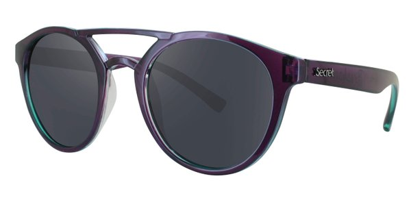 ÓC SECRET BREAKAWAY G.GREEN ON PURPLE / POLARIZED GRAY