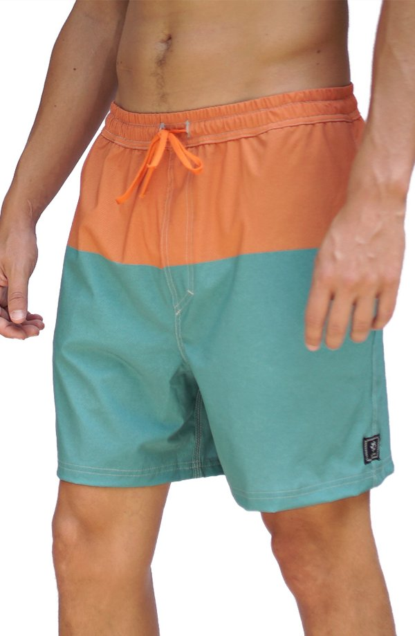 WalkBoard Shorts Sunset Colors