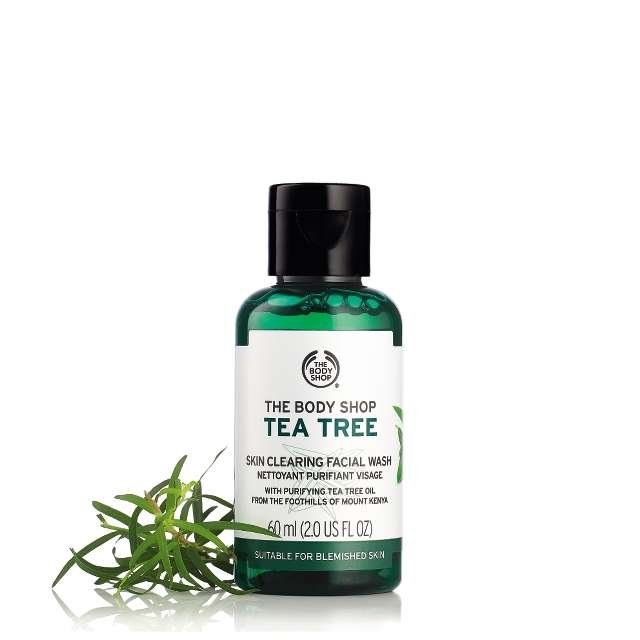 Gel De Limpeza Facial Tea Tree 60 Ml