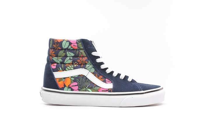 TÊNIS VANS SK8-HI (MULTI TROPIC) DRESS BLUES