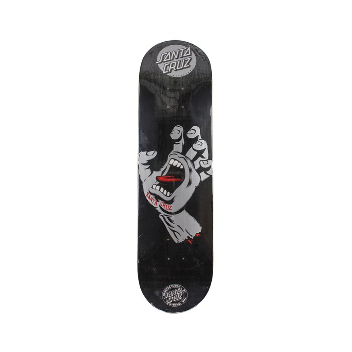 SHAPE SANTA CRUZ POWERLYTE SCREAMING HAND BLACK 8,5