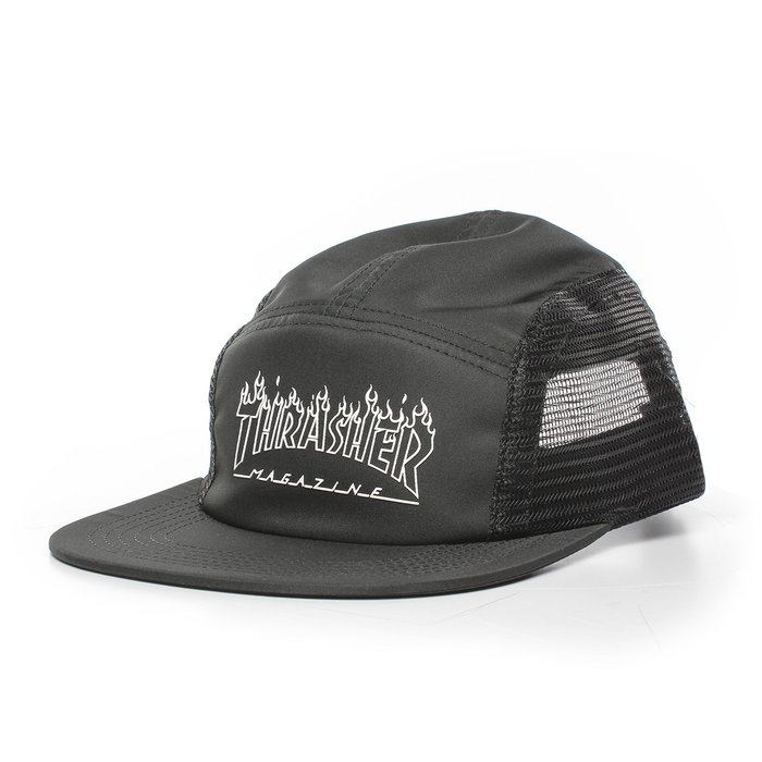 BONÉ THRASHER FIVE PANEL FLAME OUTLINE
