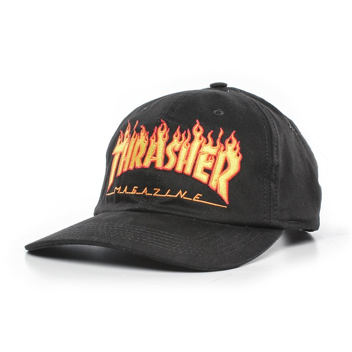 BONÉ THRASHER DAD HAT FLAME