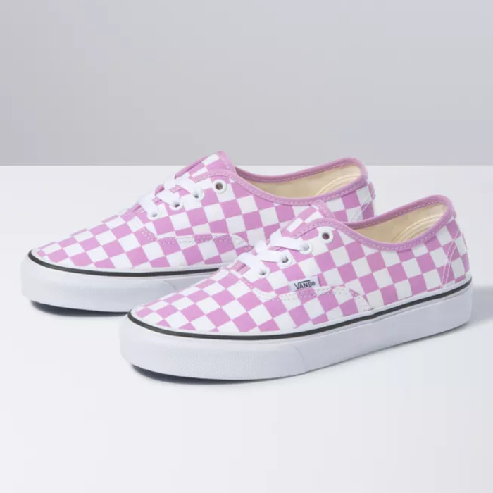 TÊNIS VANS AUTHENTIC CHECKERBOARD ORCHID/TRUE WHITE