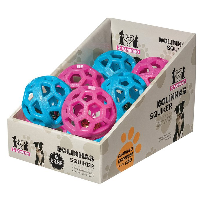 ACESS DE BORRACHA P/ CAES BOLA SINO | ACCESSORY RUBBER FOR DOGS BELL BALL | ACCES DE GOMA P/ PERROS PELOTA CON CAMPANITA