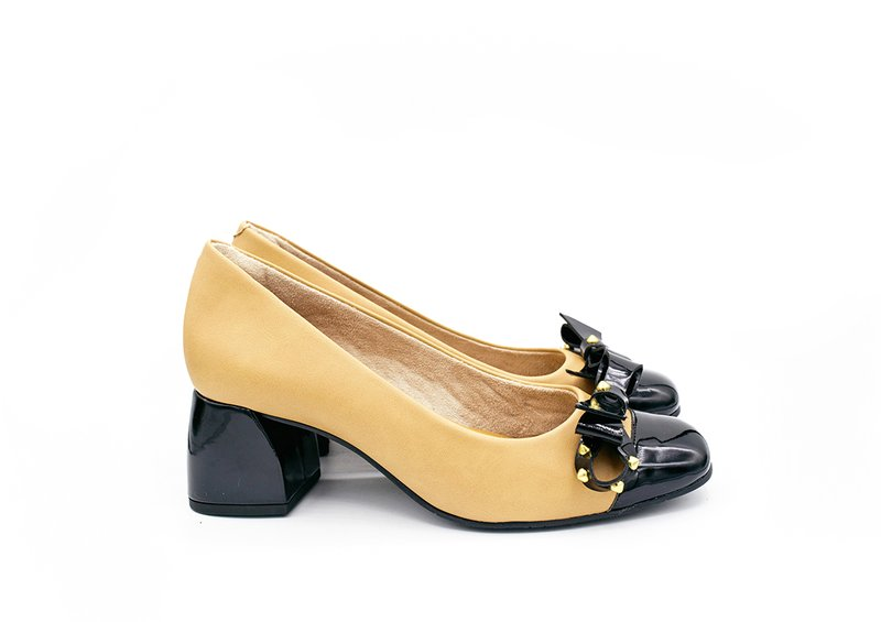 Scarpin Loren Light Tan