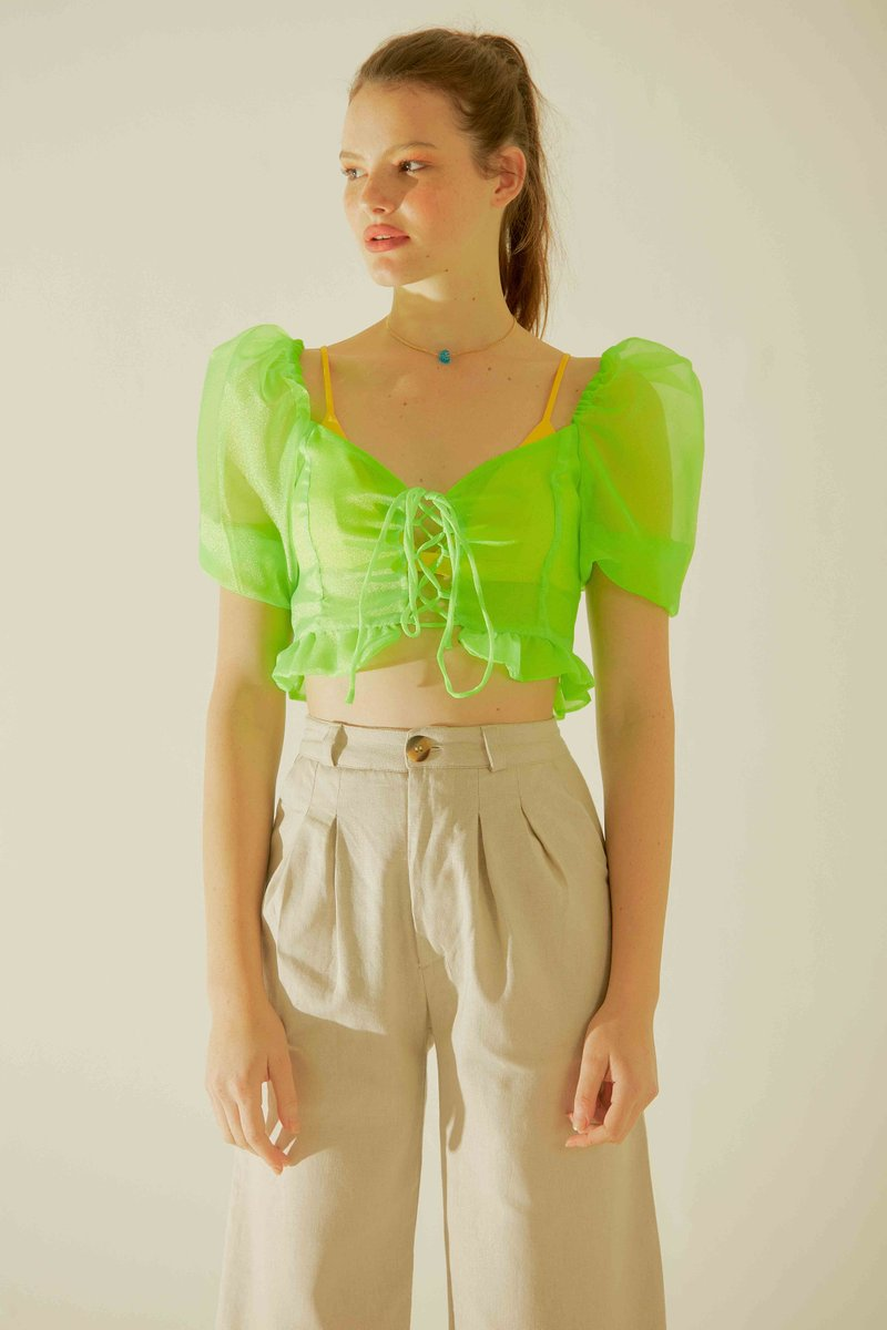 Top Juliette Verde Neon