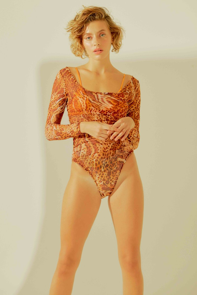 Body Paloma Leopardo