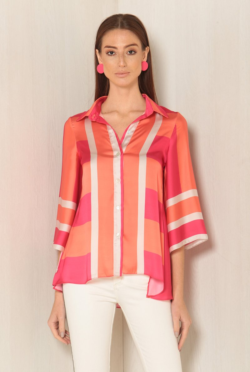 Camisa Duo Color Stripes
