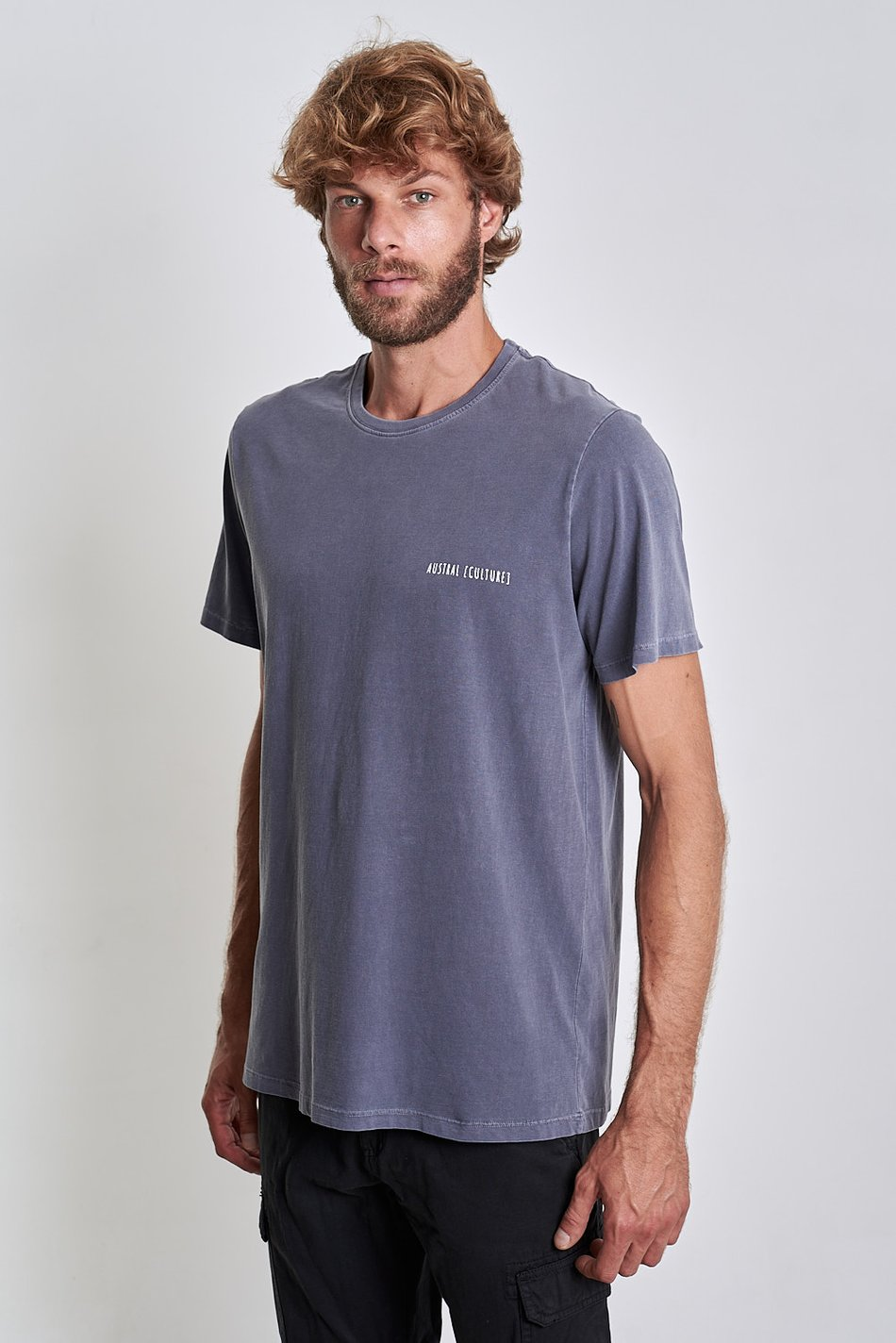 Camiseta Austral Beluga Royal
