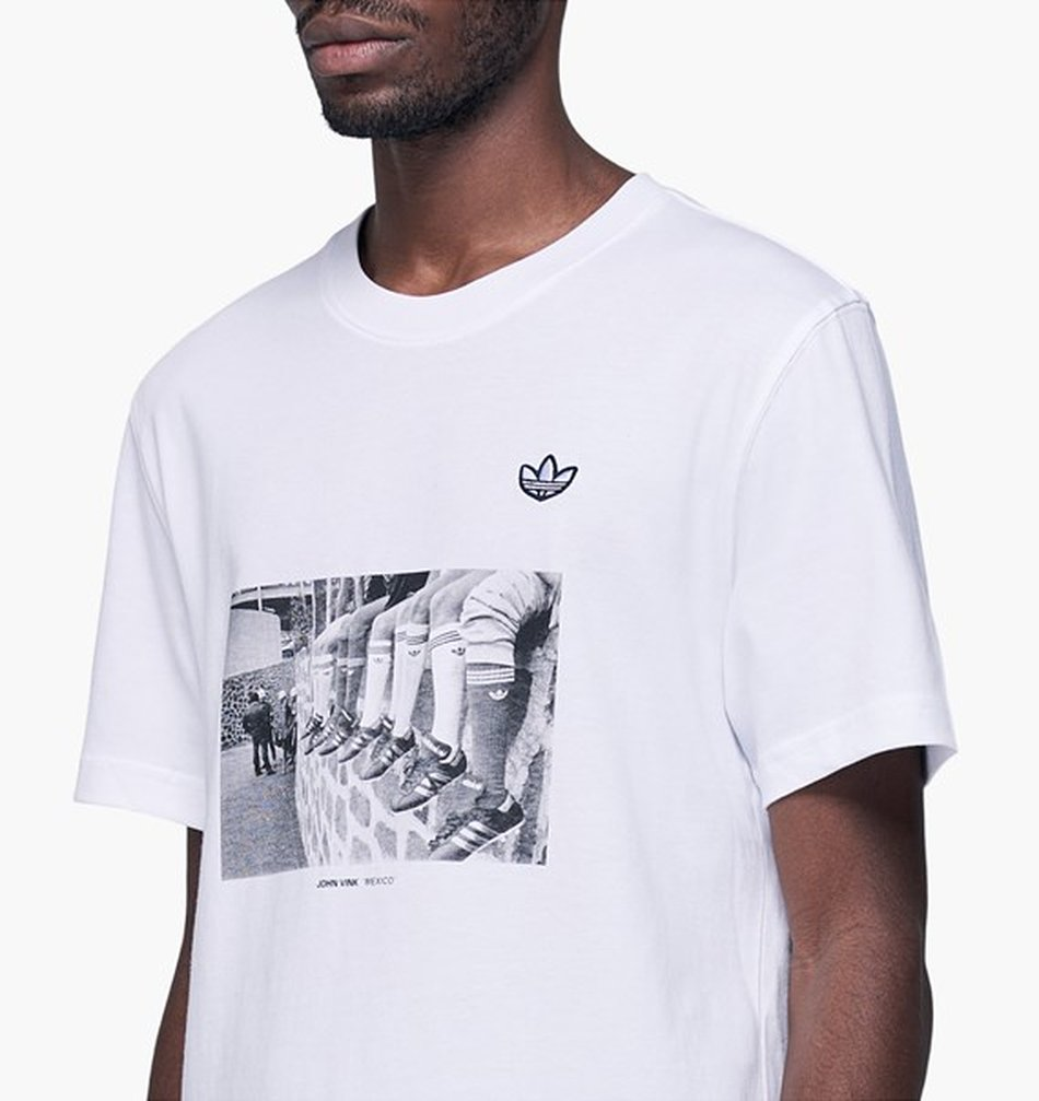 CAMISETA ADIDAS CAMISETA PHOTO BRANCO