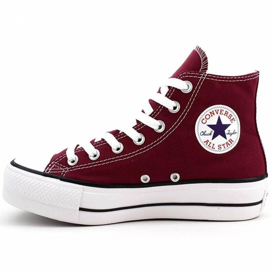 TÊNIS CONVERSE ALTO PLATAFORMA CT ALL STAR LIFT BORDO