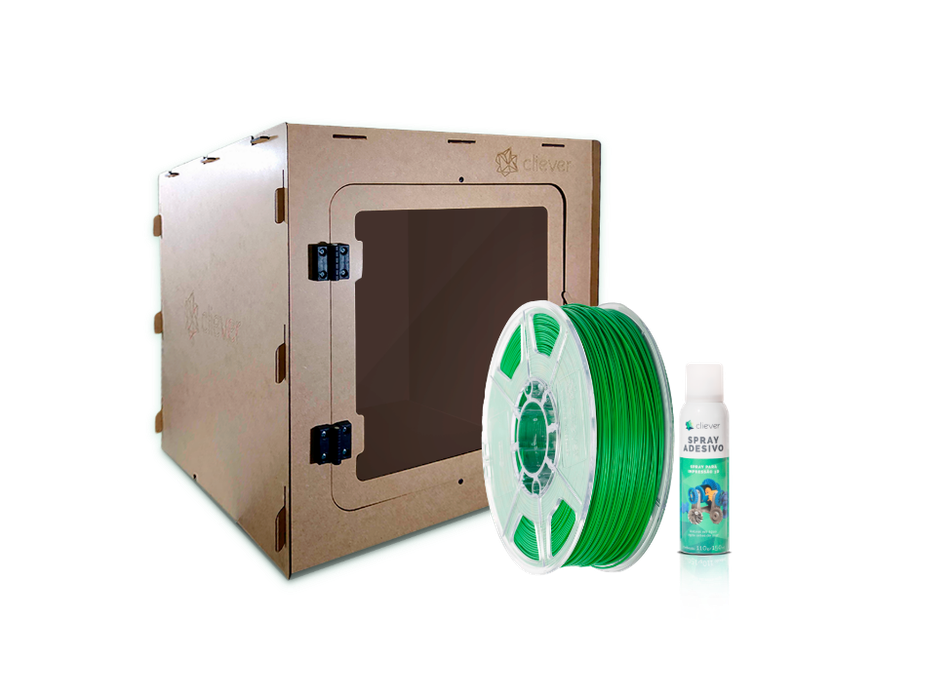 Kit Case Cliever + ABS Verde + Spray