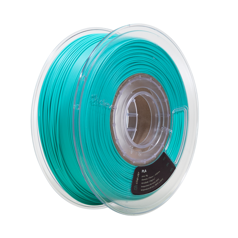 PLA VERDE TIFFANY | 1,75mm | 1 Kg | Cliever