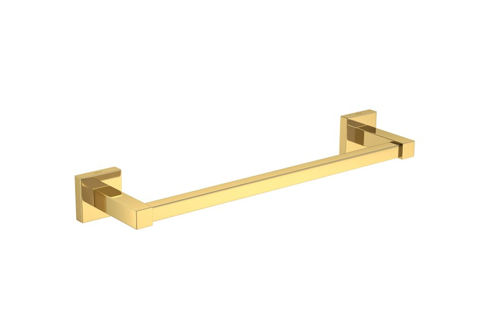 Porta Toalhas Deca Quadratta Gold 300mm Barra 2040