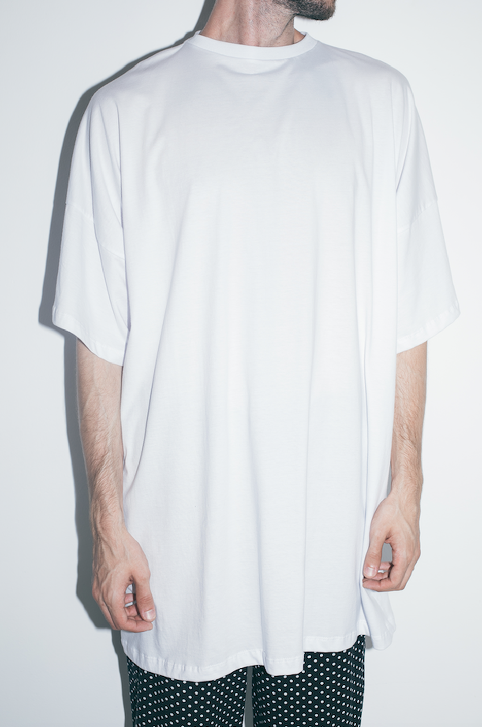 T-SHIRT OVERSIZED BRANCA | PAIR