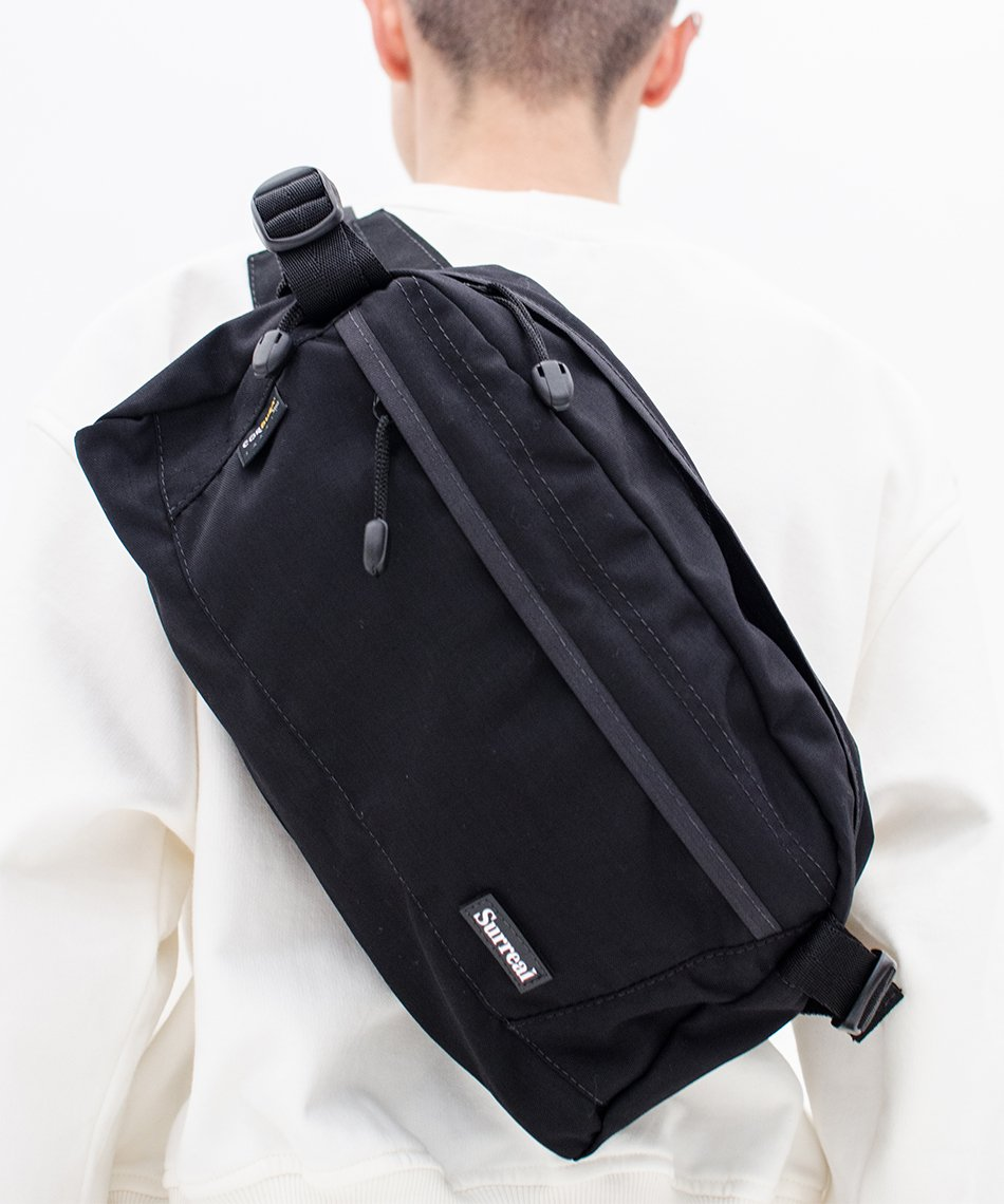 Big Shoulder Cordura Black
