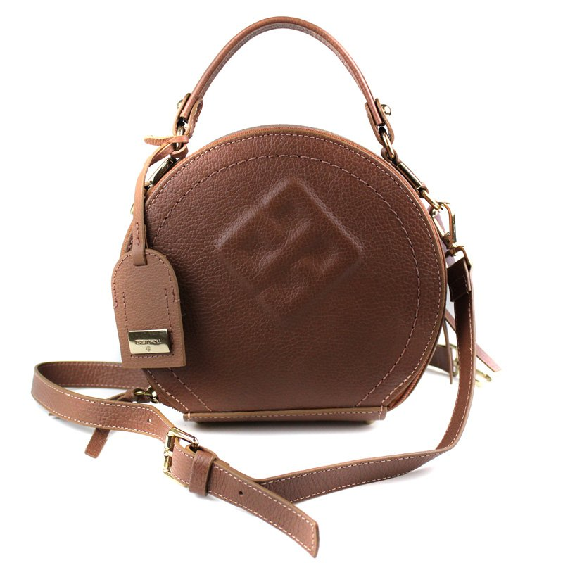 BOLSA CRISTOFOLI CROSS BODY CARAMELO