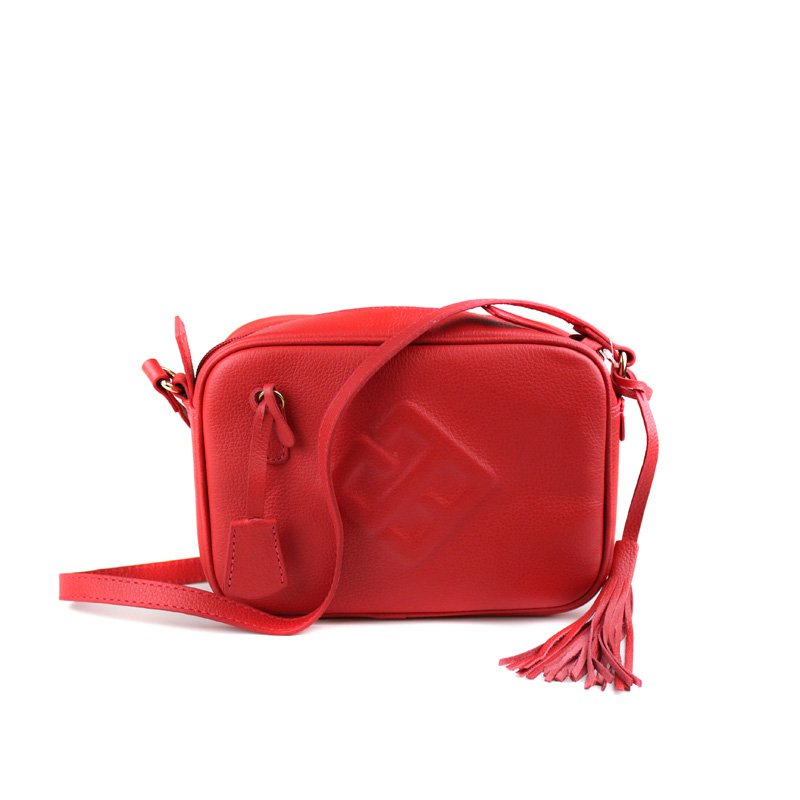 BOLSA CRISTOFOLI CROSS BODY CARMIN