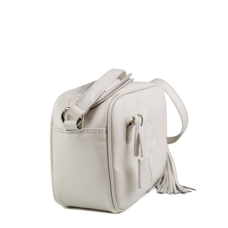 BOLSA CRISTOFOLI CROSS BODY OFF-WHITE