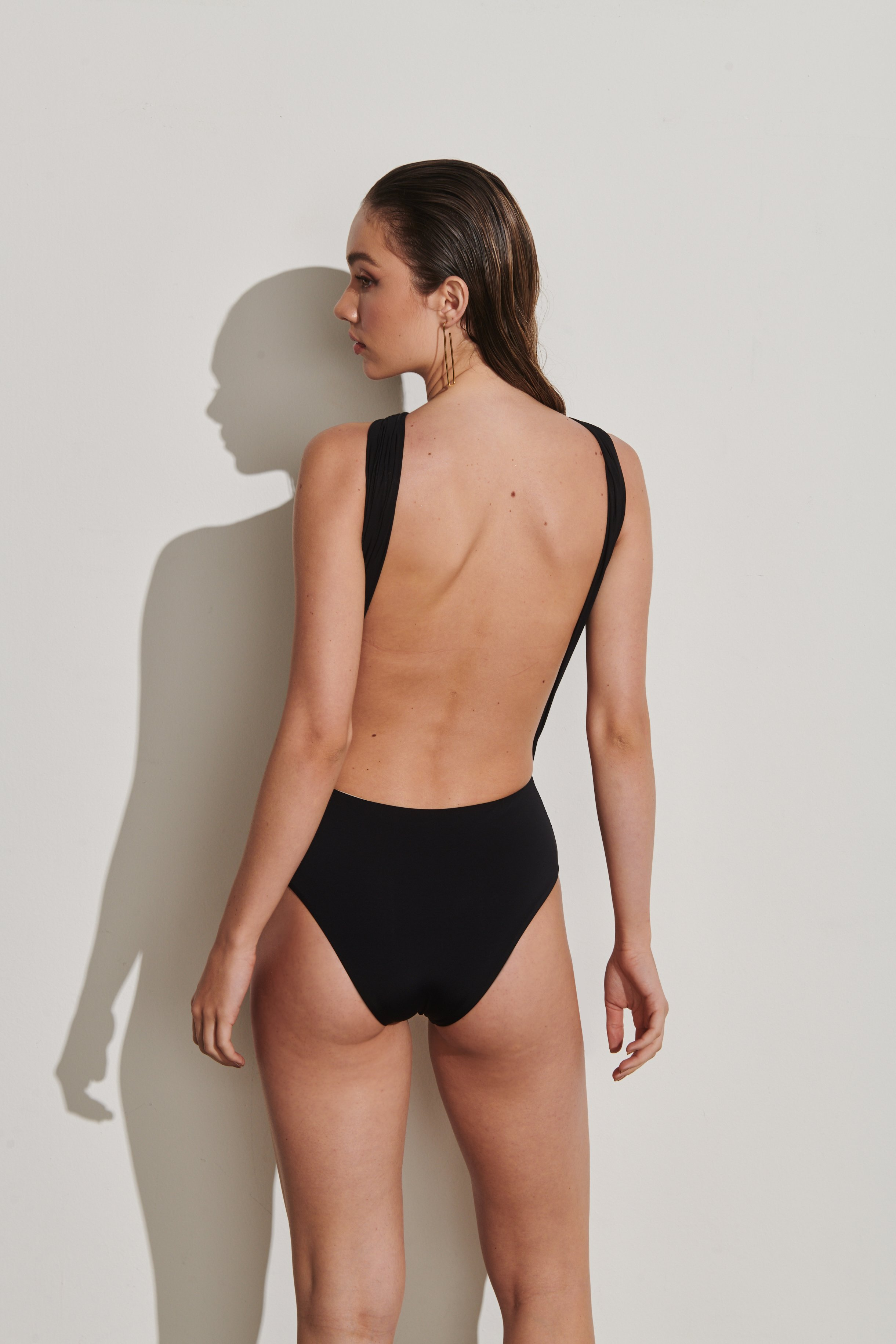 Body Cap Ferrat Preto | Cap Ferrat One-Piece Black