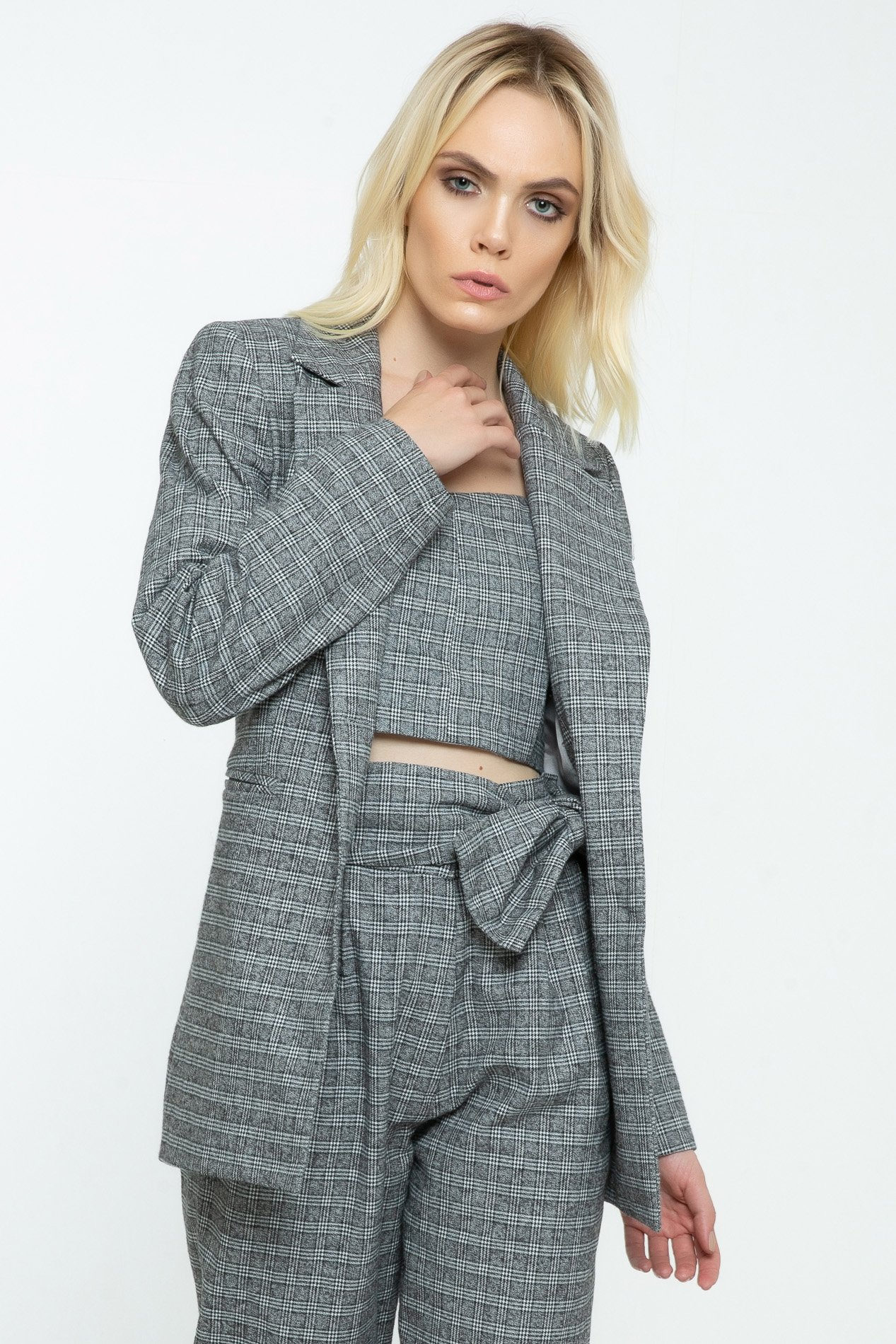Blazer Nana Glen Plaid