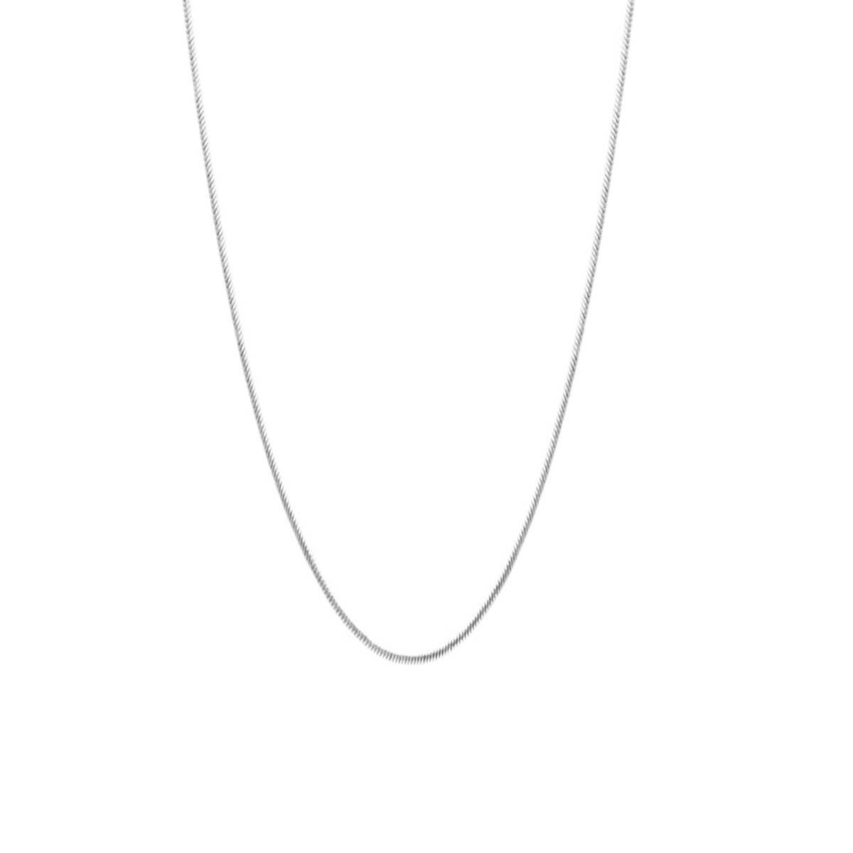 Corrente Rabo de Rato Prata 925 45 cm - New Bijoux b5f512445a