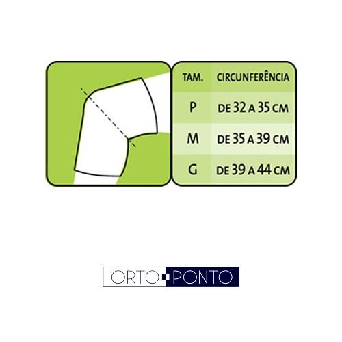 Joelheira Ortopédica Elástica Mercur - Ortoponto b9abb06cf6058