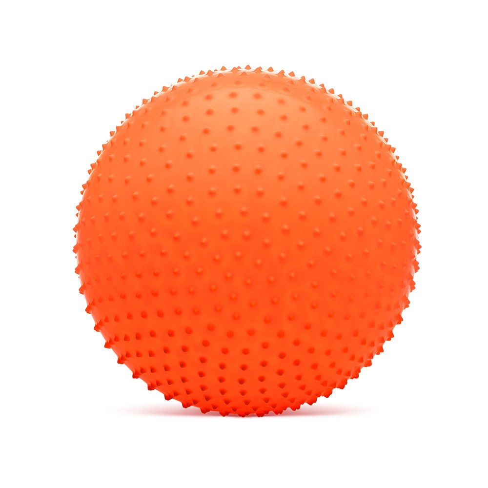 58f10ed44e Bola Cravo Gigante para Massagem 55cm Rígida com Esferas Hidrolight Laranja