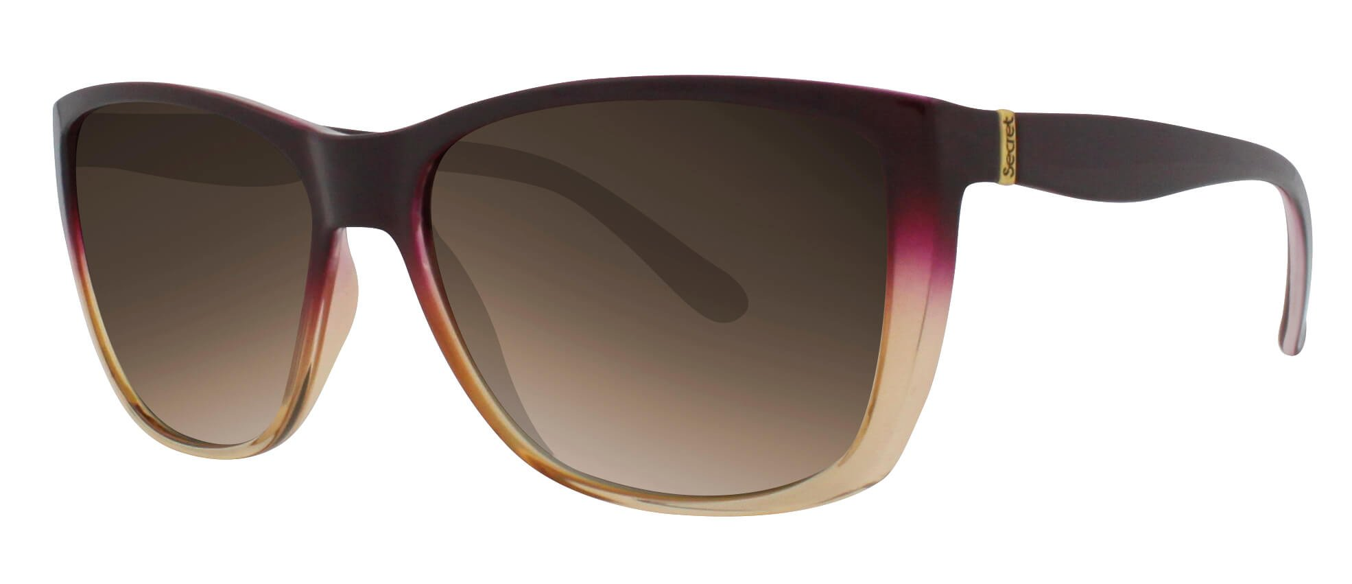 ÓC SECRET IRIS FADE PASSIONATE/YELLOW / POLARIZED GRADIENT BROWN