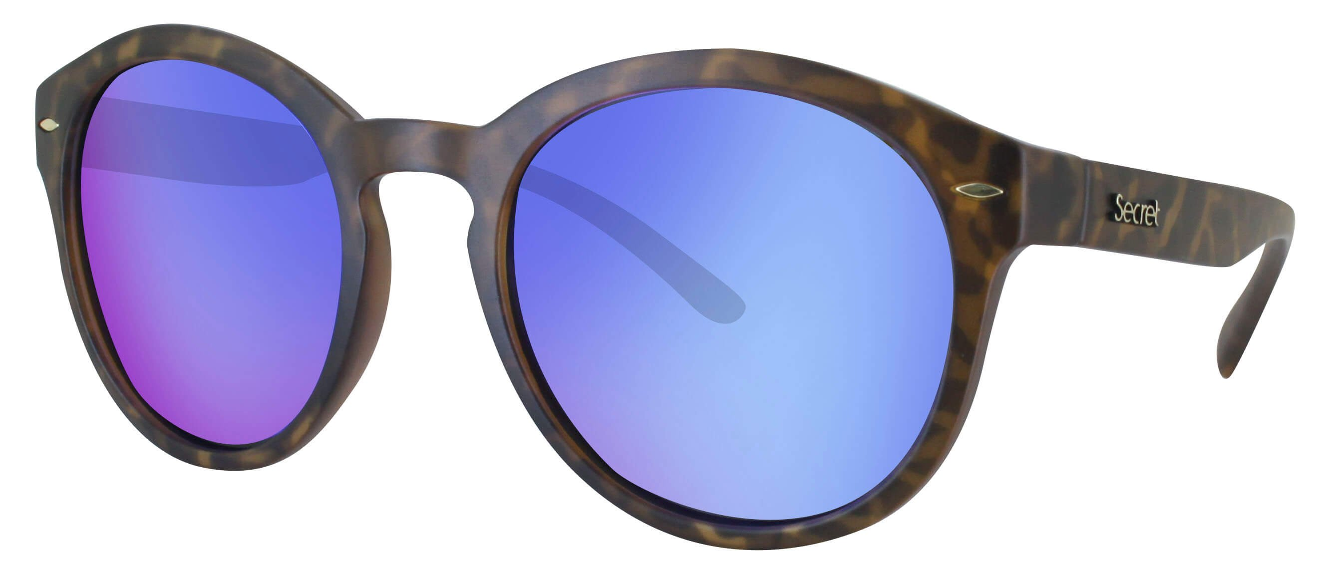 ÓC SECRET WANNABE MATTE HAVANA TURTLE / POLARIZED BLUE