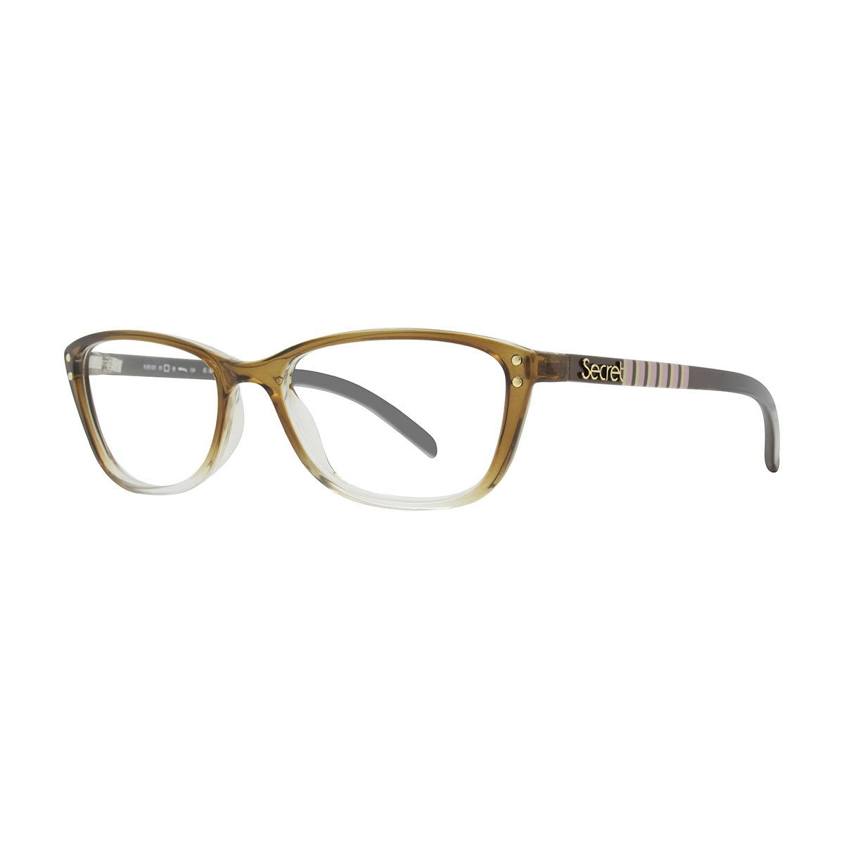 SECRET GRILAMID 80031 GLASSY BROWN STRIPES