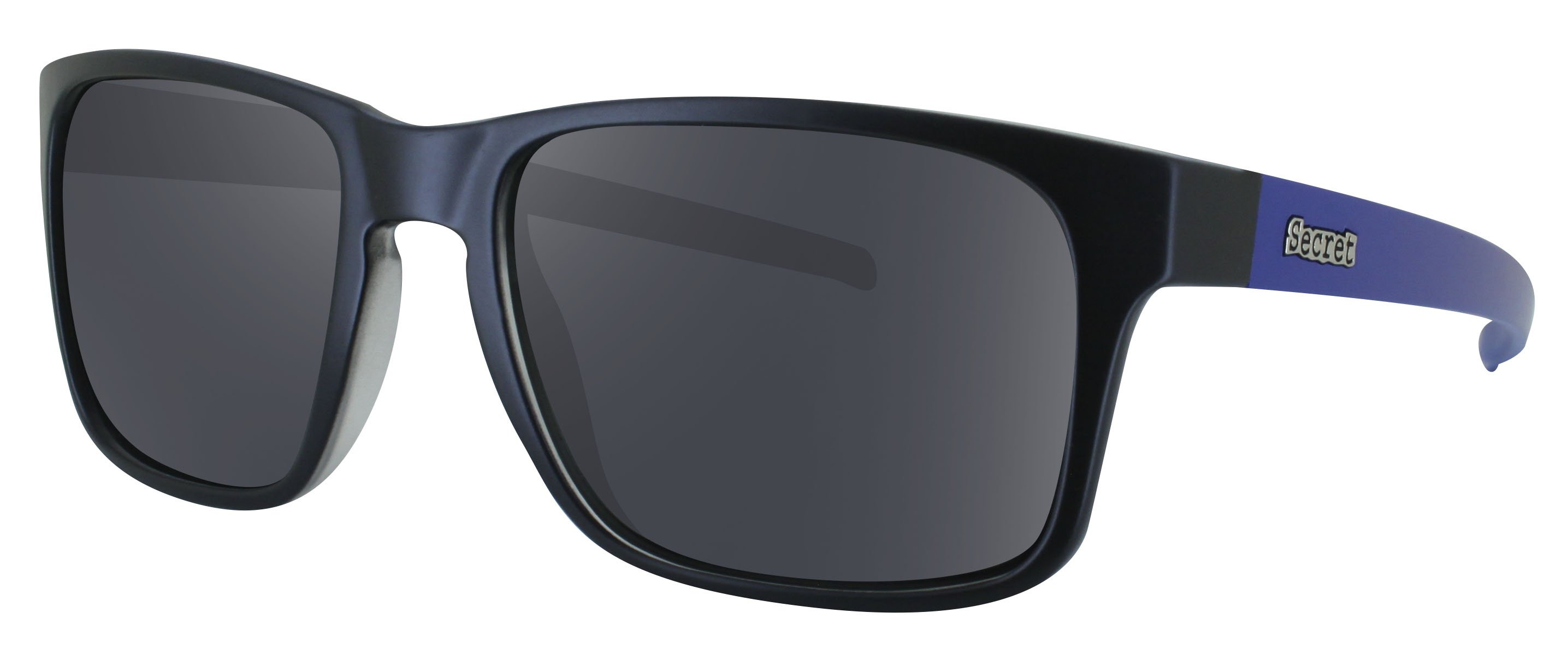 ÓC SECRET MOTLEY BLACK/MATTE BLUE / POLARIZED GRAY