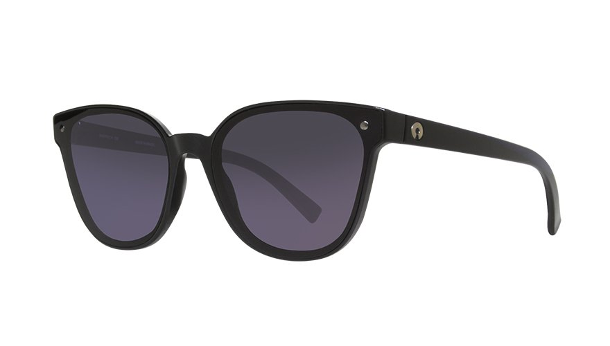 SARAH GLOSS BLACK / POLARIZED GRADIENT GRAY
