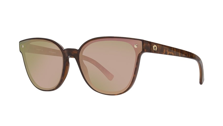 SARAH HAVANA TURTLE  / POLARIZED GRADIENT PINK MIRROR