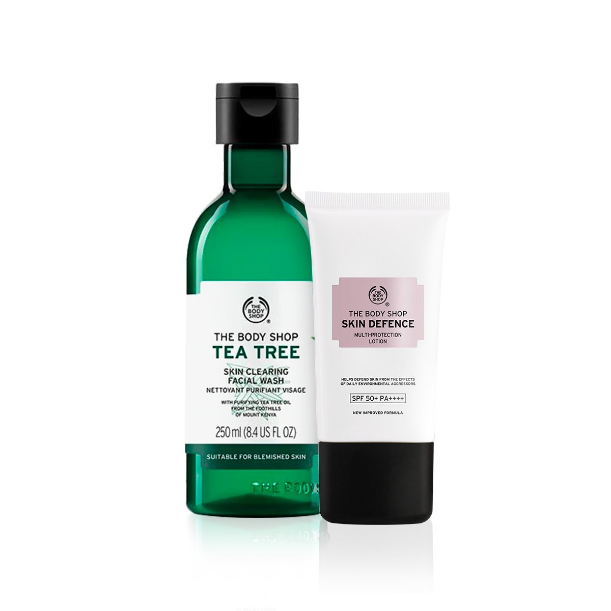 Kit Skin Defense - Face Wash Tea Tree