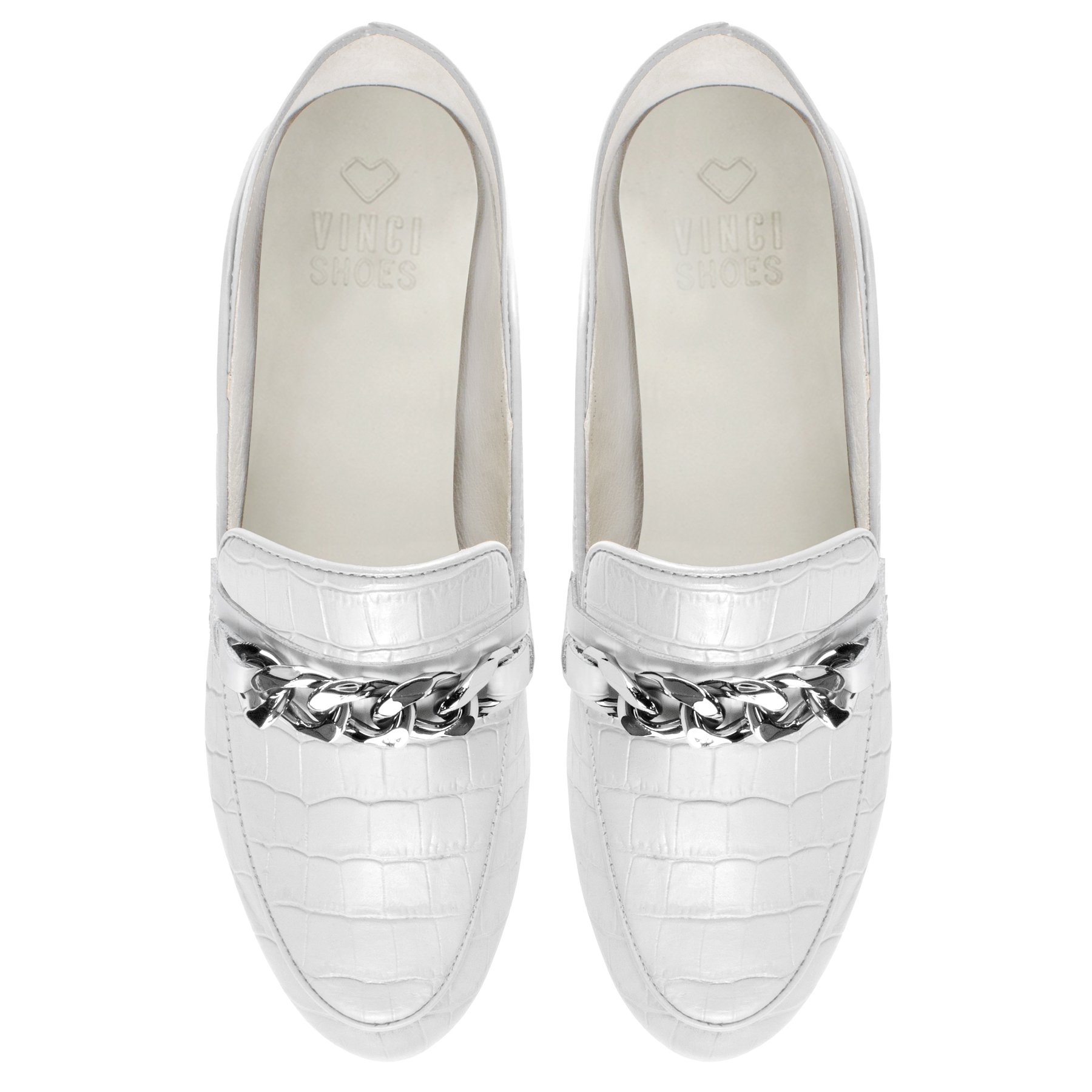 Loafer Chain White